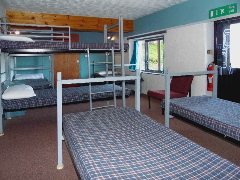 Gogarth Dorms single and bunk beds