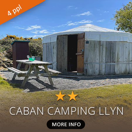 Caban Llyn Camping Accommodation