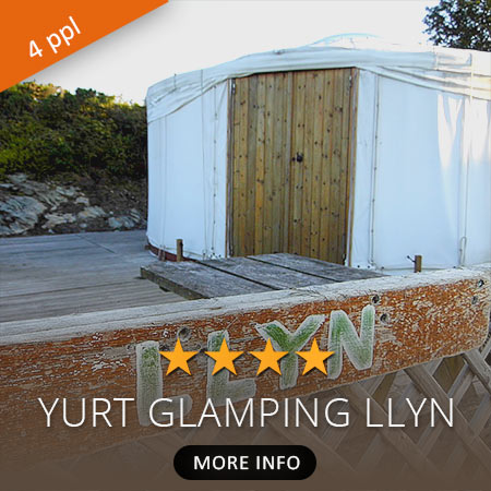 Yurt Glamping Accommodation Llyn
