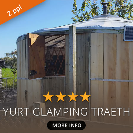 Yurt Glamping Accommodation traeth