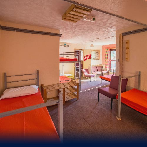 Gogarth Dorms with single beds